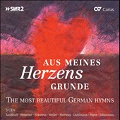 From bottom of my heart - Most Beautiful German Hymns [3 CDs]