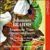 Brahms: Hungarian Dances for Piano 4 Hands / Moreno, Capelli