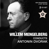 Willem Mengelberg conducts Dvorak: Cello Concerto; Symphony 9 & Beethoven: Symphony 1 / Maurice Gendron, cello; Maria Neuss, violin