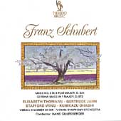Schubert: Mass no 3 in Bb, German Mass / Hans Gillesberger