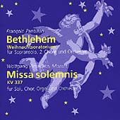 Pantillon: Bethlehem;  Mozart: Missa Solemnis / Pantillon