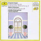 Chopin: Cello Sonata, etc;  Schumann / Rostropovich