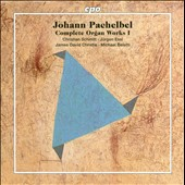 Johann Pachelbel: Complete Organ Works Vol. 1 / James David Christie, Christian Schmitt, Jurgen Essl & Michael Belotti, organists [5 CDs]