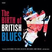 Various Artists: The Birth of British Blues [Proper Box]