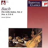 Bach: Suites for Violoncello Vol 2 / Anner Bylsma