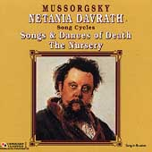 Mussorgsky: Song Cycles / Netania Davrath, Erik Werba