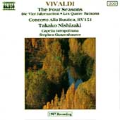 Vivaldi: Four Seasons, etc / Nishizaki, Gunzenhauser