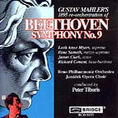 Beethoven: Symphony no 9 (Mahler Edition) / Tiboris, Brno PO