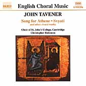 John Tavener: Song for Athene, Svyati, etc / Robinson, et al