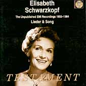 Elisabeth Schwarzkopf - Lieder & Songs 1955-1964