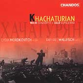Khachaturian: Violin Concerto, etc / Mordkovitch, Wallfisch