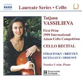 Laureate Series, Cello - Tatjana Vassilieva