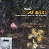 Schubert: Piano Trios no 1 & 2 / Guarneri Trio Prague