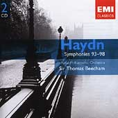 Gemini - Haydn: Symphonies no 93-98 / Sir Thomas Beecham, et al