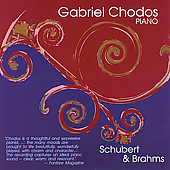 Schubert: Sonata in G major, D. 894;  Brahms / Chodos