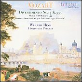 Mozart: Divertimento, etc / Hink, I Solisti di Perugia