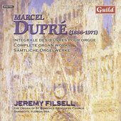 Dupr&#233;: Complete Organ Works Vol 8 / Jeremy Filsell