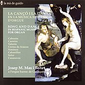 Hispanic Music for Organ - Cabezon, Carreira et al / Bonet