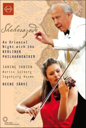 An Oriental Night from the Berlin Philharmonic: Jansen, Solberg, Jarvi, et al [DVD]