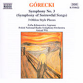 Gorecki: Symphony No. 3