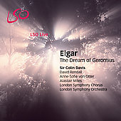 Elgar: The Dream of Gerontius / Davis, Rendall, et al