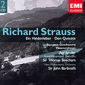 Strauss: Ein Heldenleben, etc / Beecham, et al