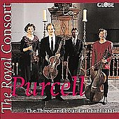 Purcell: The Three & Four Part Fantasias / The Royal Consort