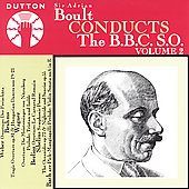 Boult Conducts the BBC SO Vol 2