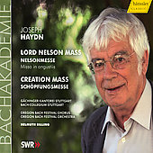 Haydn: Nelson Mass, Creation Mass / Rilling, G&auml;chinger