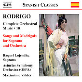 Naxos Spanish Classics - Rodrigo: Orchestral Music, Vol 10