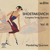 Shostakovich: String Quartets Vol 3 / Mandelring String Quartet