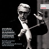 Dvor&aacute;k: Symphony no 3;  Glazunov: Saxophone Concerto;  Gershwin: Rhapsody in Blue / Smetacek, Kraugartner, Panenka