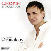Chopin: 21 Mazurkas / Vassily Primakov