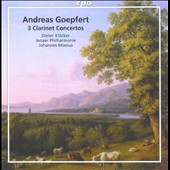 Andreas Goepfert: 3 Clarinet Concertos