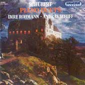 Schubert: Piano Duets / Imre Rohmann, Andr&aacute;s Schiff
