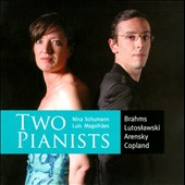 Two Pianists: Brahms, Lutoslawski, Arensky, Copland