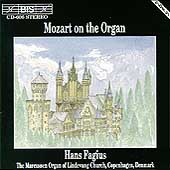 Mozart on the Organ / Hans Fagius
