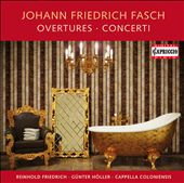 Fasch: Overtures & Concerti / Hans-Martin Linde