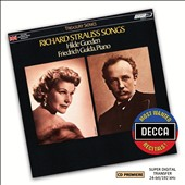 Richard Strauss Songs / Hilde Gueden, soprano; Friederich Gulda, piano