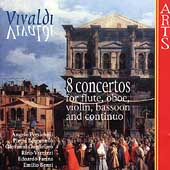 Vivaldi: 8 Concertos / Persichilli, Borgonovo, et al