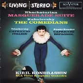 Khachaturian: Masquerade Suite;  Kabalevsky / Kondrashin