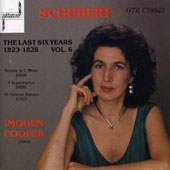 Schubert: The Last Six Years Vol 6 / Imogen Cooper