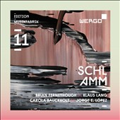 'Schlamm' - Brian Ferneyhough: Finis Terrae; Klaus Lang: The Ocean of Yes and No; Carola Bauckhort: Schlammflocke; Jorge Lopez: Gonzaldes the Earth Eater / Ensemble Musikfabrik et al.