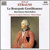 Strauss: Le Bourgeois Gentilhomme, etc /Halász, Melbourne SO
