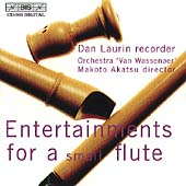 Entertainments for a small flute / Dan Laurin, et al