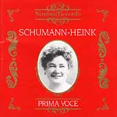 Prima Voce - Ernestine Schumann-Heink
