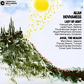 Hovhaness: Lady of Light, Avak the Healer / Hovhaness, et al