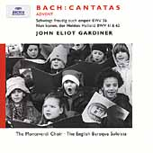 Bach: Advent Cantatas / Gardiner, Monteverdi Choir, et al