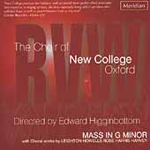 Vaughan Williams: Mass in G minor, etc / New College Choir