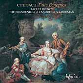 C.P.E. Bach: Flute Concertos / Rachel Brown, Roy Goodman